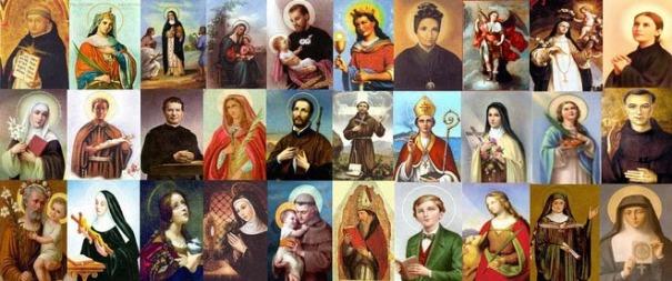 Resultado de imagem para santos catolicos