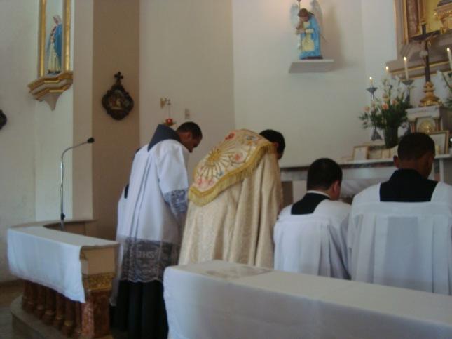 Resultado de imagem para genuflexao altar