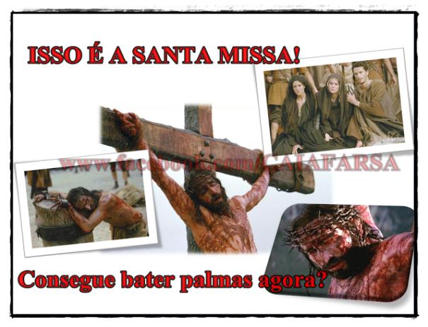 Resultado de imagem para palmas na missa