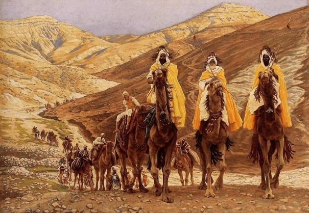'A viagem dos Magos' (1894), James Jacques-Joseph Tissot (1836-1902). Brooklyn Museum, New York City.