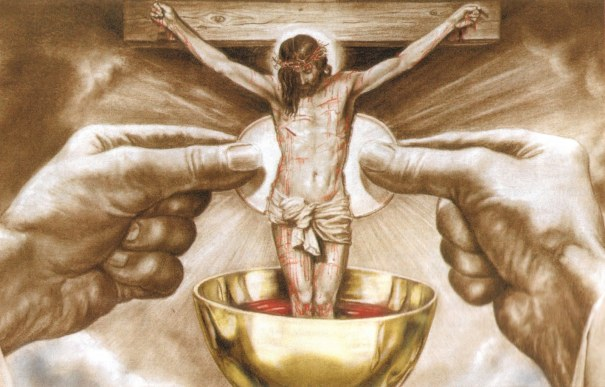 Resultado de imagem para O poder do sangue de Cristo (Das catequeses de São João Crisóstomo – Séc. IV)