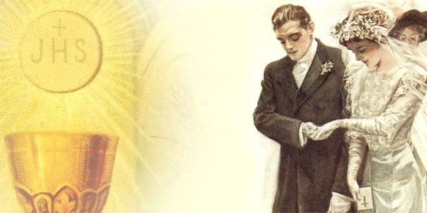 Resultado de imagem para o sacramento do matrimonio na igreja catolica